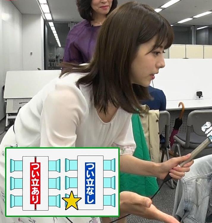 森山るりアナ 透けシャツキャプ・エロ画像9