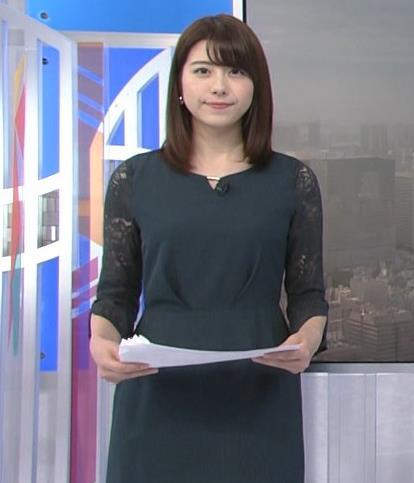 森山るりアナ 横乳&プリケツキャプ・エロ画像3