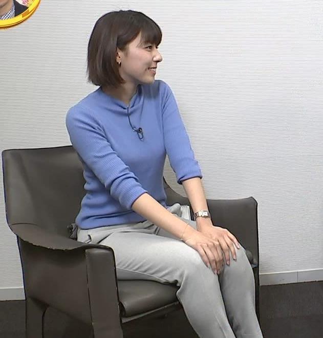 アナ ニット横乳キャプ・エロ画像3