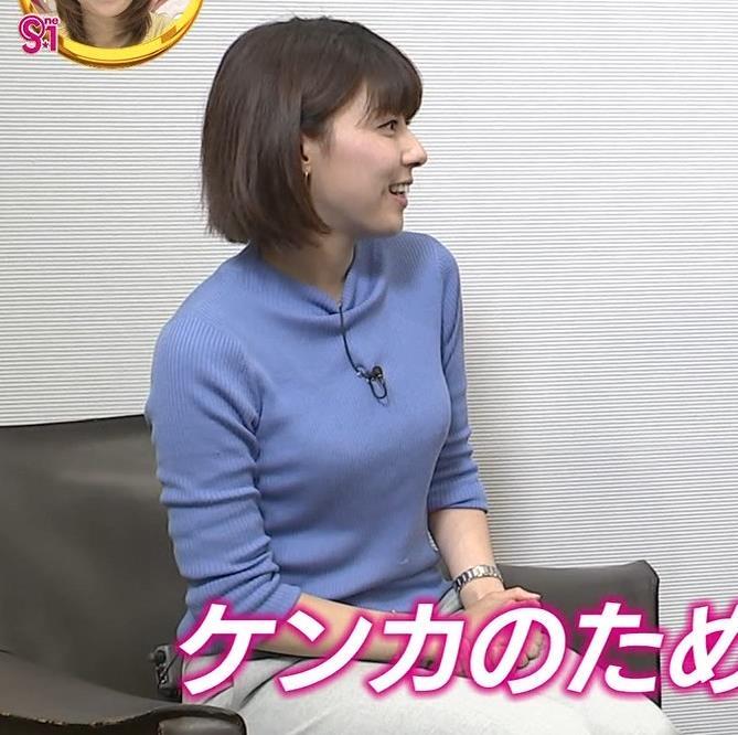 アナ ニット横乳キャプ・エロ画像4