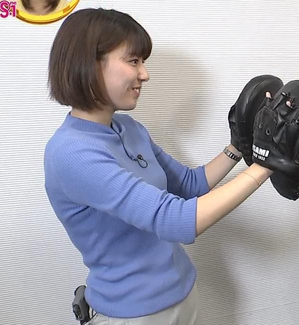 アナ ニット横乳キャプ・エロ画像5