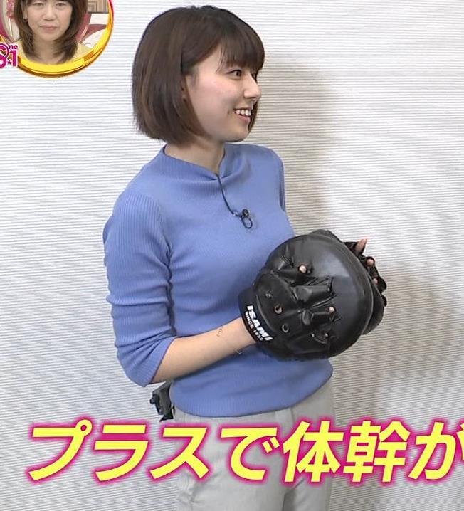 アナ ニット横乳キャプ・エロ画像6