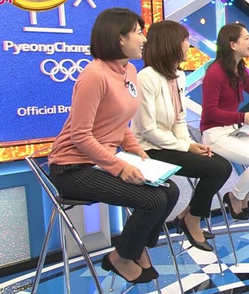 上村彩子アナ 胸のふくらみがエロ過ぎ!!キャプ・エロ画像3