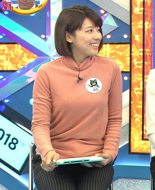 上村彩子アナ 胸のふくらみがエロ過ぎ!!キャプ・エロ画像4