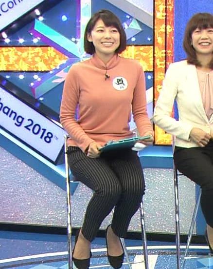 上村彩子アナ 胸のふくらみがエロ過ぎ!!キャプ・エロ画像6