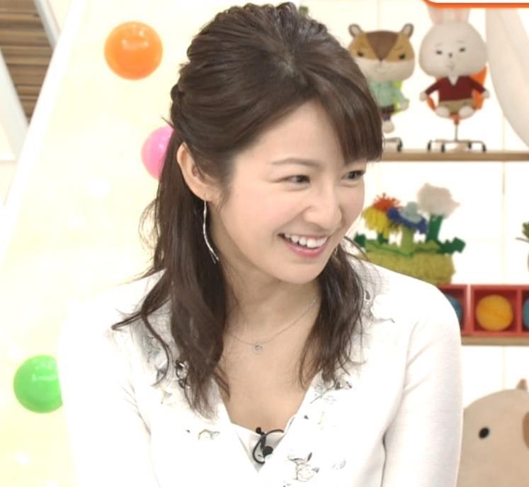 長野美郷アナ めざましどようび卒業回はちょっと胸元がエロいキャプ・エロ画像2
