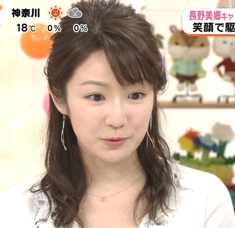 長野美郷アナ めざましどようび卒業回はちょっと胸元がエロいキャプ・エロ画像4
