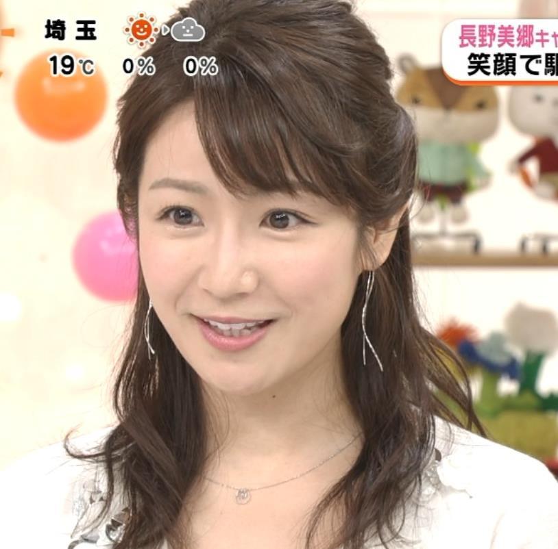 長野美郷アナ めざましどようび卒業回はちょっと胸元がエロいキャプ・エロ画像5