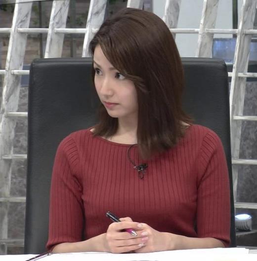 長野美郷 ニットおっぱいキャプ画像(エロ・アイコラ画像)