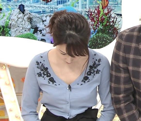 長野美郷 胸元開けすて白い肌が大胆露出キャプ・エロ画像