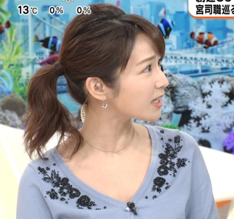 長野美郷 胸元開けすて白い肌が大胆露出キャプ・エロ画像3