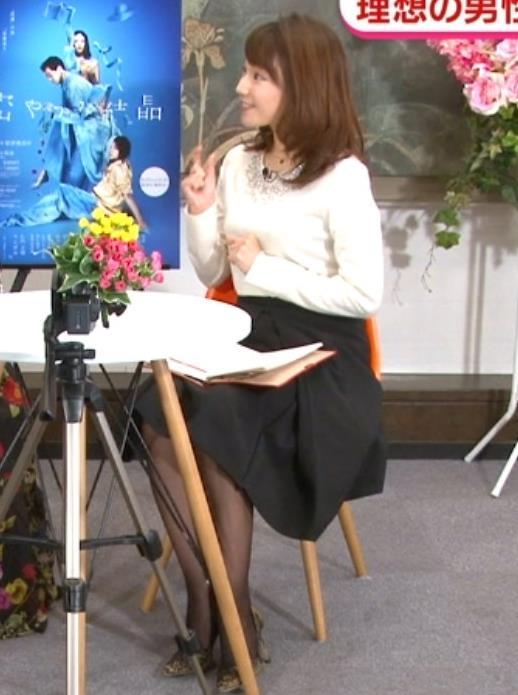 長野美郷アナ 黒ストッキング♡キャプ・エロ画像