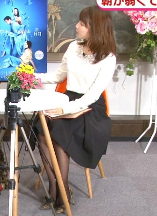 長野美郷アナ 黒ストッキング♡キャプ・エロ画像2