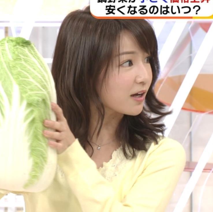 長野美郷アナ 黒ストッキング♡キャプ・エロ画像12