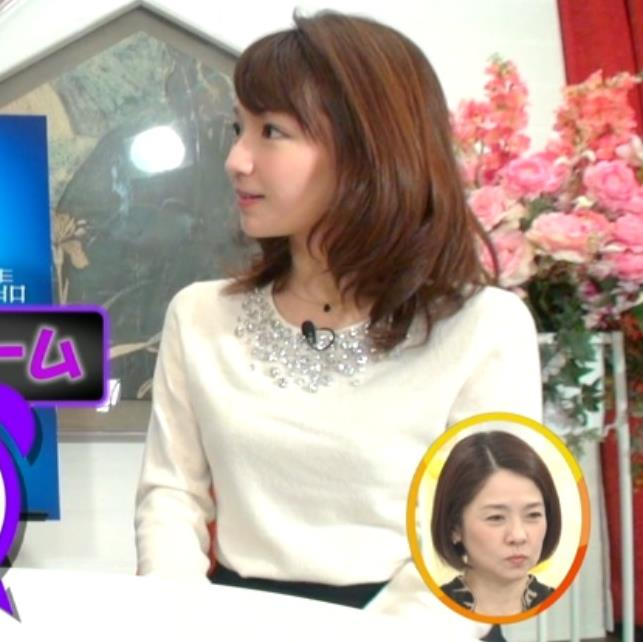 長野美郷アナ 黒ストッキング♡キャプ・エロ画像4