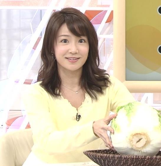 長野美郷アナ 黒ストッキング♡キャプ・エロ画像10