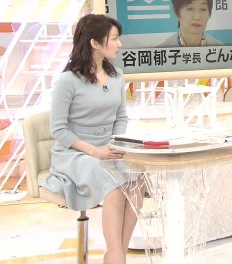 長野美郷アナ 胸のふくらみがいい感じのニットおっぱい♡キャプ・エロ画像12