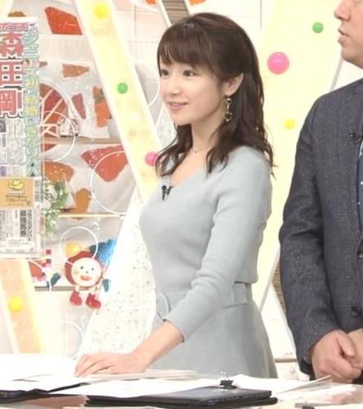 長野美郷 胸のふくらみがいい感じのニットおっぱい♡キャプ画像(エロ・アイコラ画像)