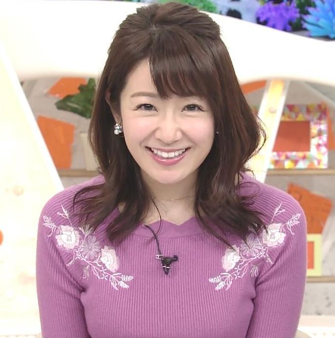 長野美郷 ニット乳(めざましどようび)キャプ・エロ画像7