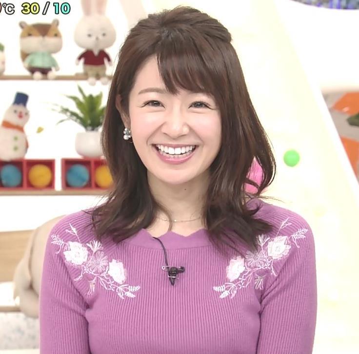 長野美郷 ニット乳(めざましどようび)キャプ・エロ画像9