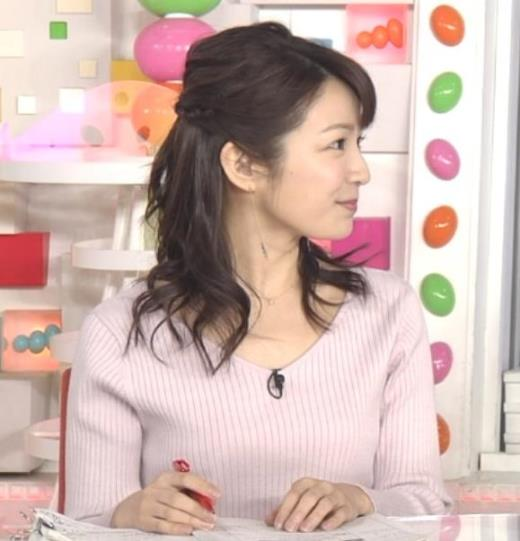 長野美郷 ニット乳♡♥キャプ画像(エロ・アイコラ画像)