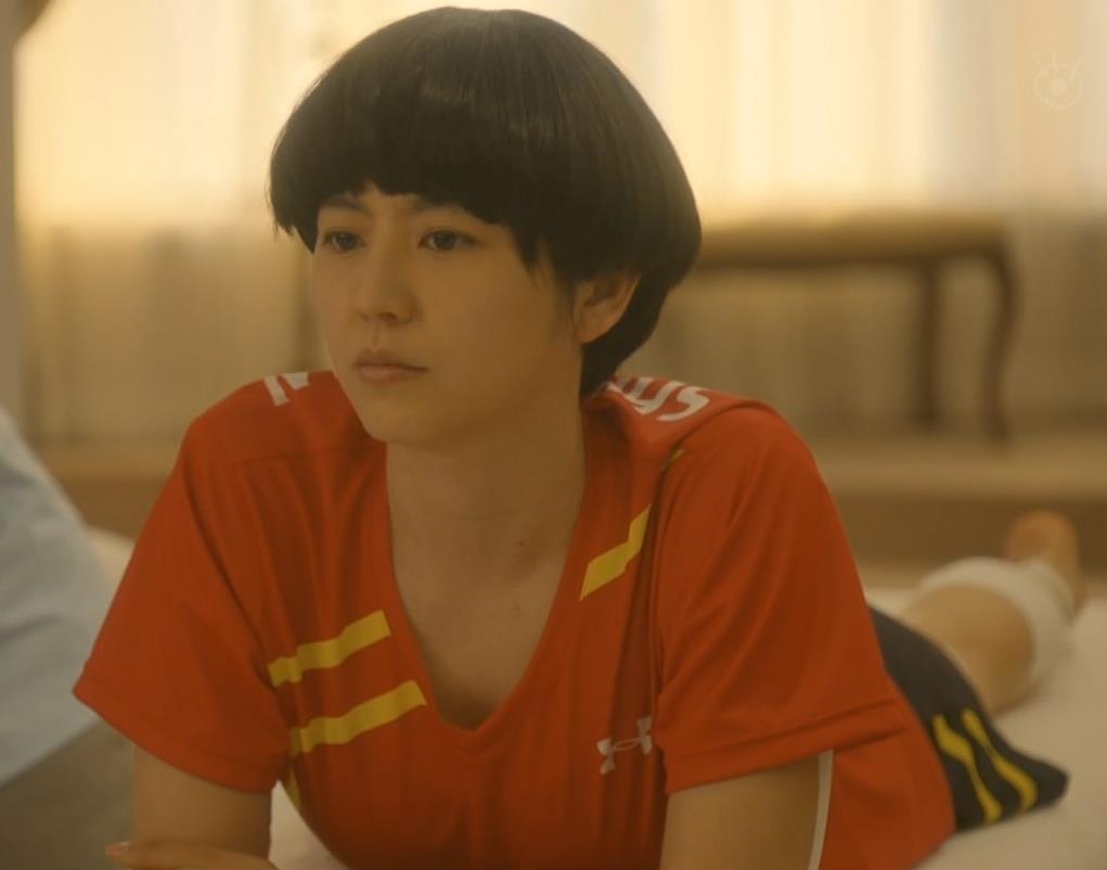 長澤まさみ Tシャツでちょっと胸ちら!!キャプ・エロ画像7