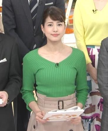 永島優美アナ ニットデカ乳キャプ・エロ画像2