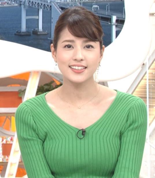 永島優美アナ ニットデカ乳キャプ・エロ画像7