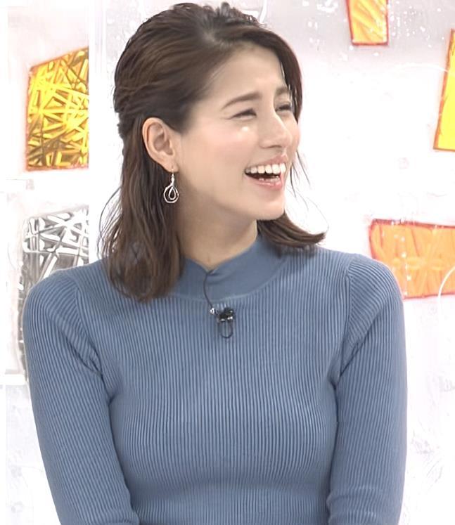 永島優美アナ ピチピチなニットおっぱいキャプ・エロ画像2
