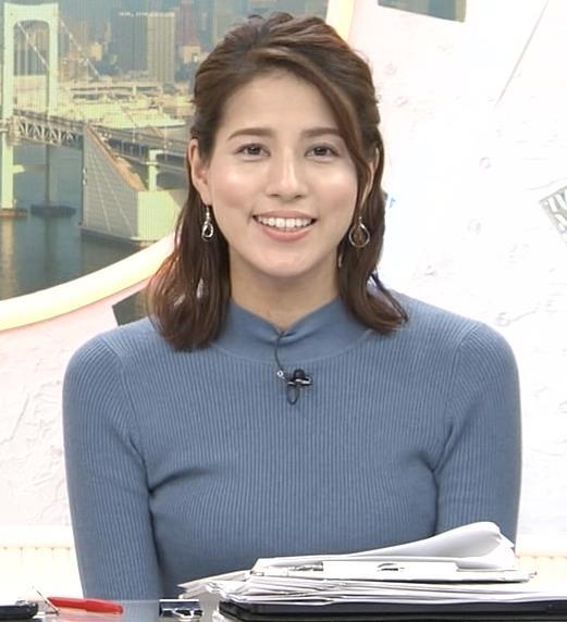 永島優美アナ ピチピチなニットおっぱいキャプ・エロ画像5