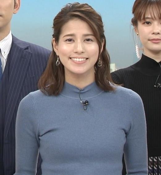 永島優美アナ ピチピチなニットおっぱいキャプ・エロ画像6