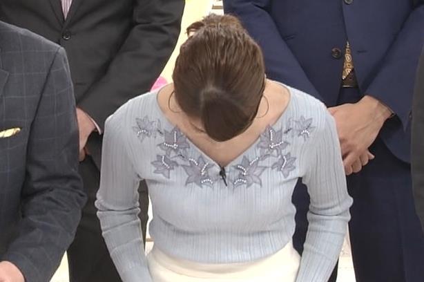 永島優美アナ 2018年も朝からセクシーキャプ・エロ画像4
