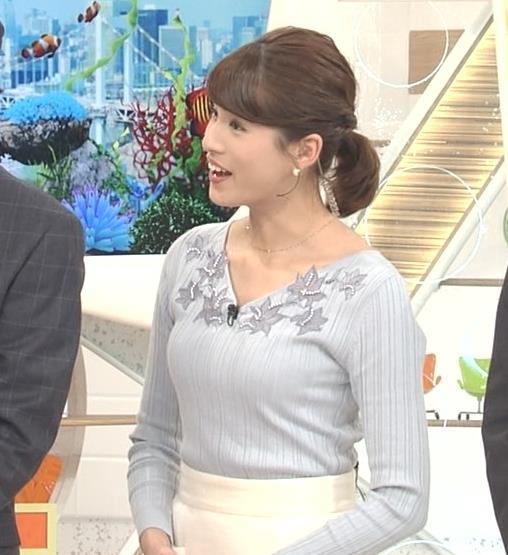 永島優美アナ 2018年も朝からセクシーキャプ・エロ画像7