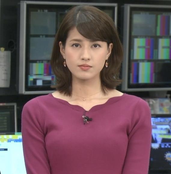 永島優美アナ 最近はタイトは服ばかりきてておっぱいアピールキャプ・エロ画像3