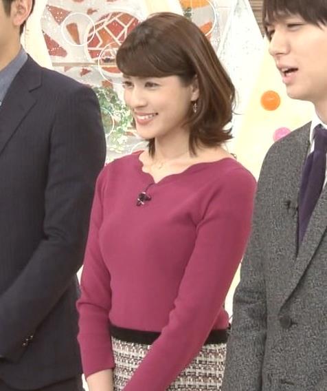 永島優美アナ 最近はタイトは服ばかりきてておっぱいアピールキャプ・エロ画像4
