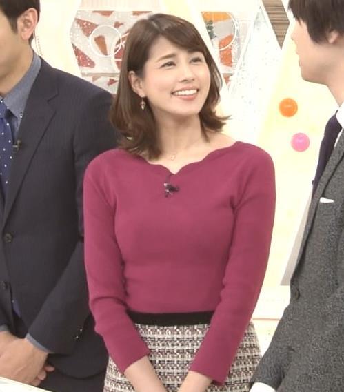 永島優美アナ 最近はタイトは服ばかりきてておっぱいアピールキャプ・エロ画像5
