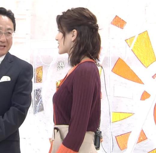 永島優美アナ キャミソールが透けてるキャプ・エロ画像3