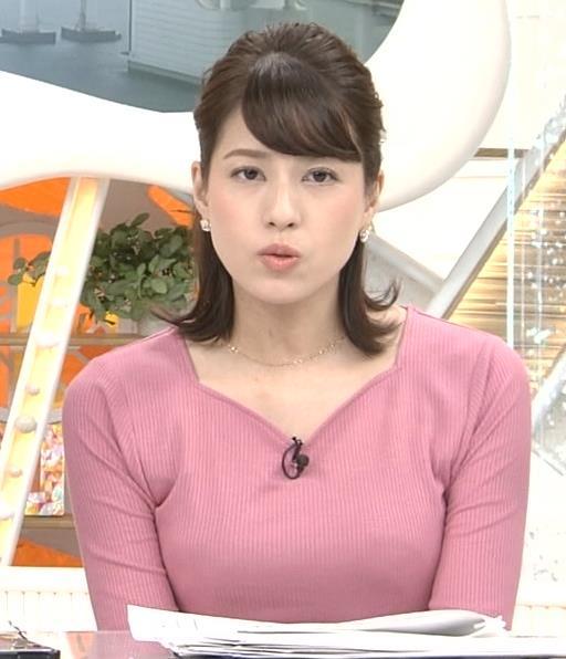 永島優美アナ ピチピチニットの横乳キャプ・エロ画像7