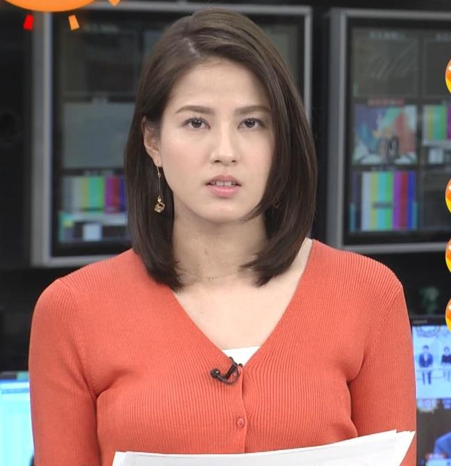 永島優美アナ エロい胸元キャプ・エロ画像5