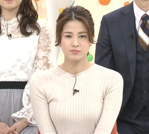 永島優美アナ かわいいポニーテールキャプ・エロ画像5