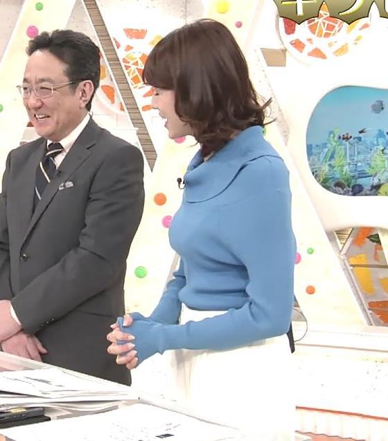 永島優美アナ ゆったりねのニットのほうがおっぱいがエロくない??キャプ・エロ画像3