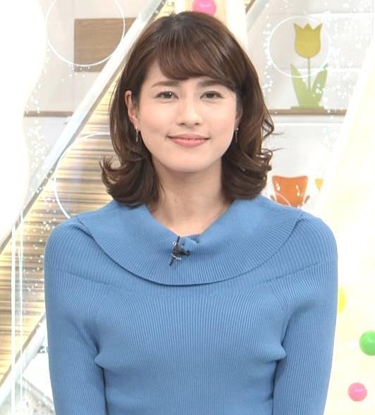 永島優美アナ ゆったりねのニットのほうがおっぱいがエロくない??キャプ・エロ画像7