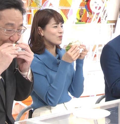 永島優美アナ ゆったりねのニットのほうがおっぱいがエロくない??キャプ・エロ画像9