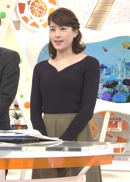 アナ クッキリしたニット横乳★キャプ・エロ画像4