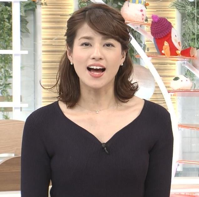 アナ クッキリしたニット横乳★キャプ・エロ画像6
