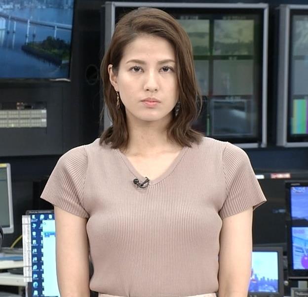 永島優美アナ 横乳キャプ・エロ画像2