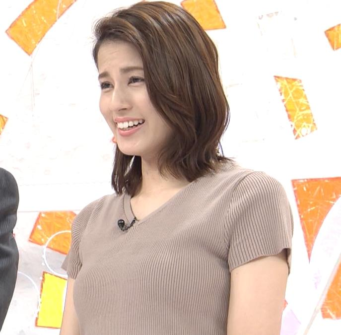 永島優美アナ 横乳キャプ・エロ画像3