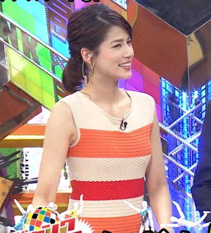 永島優美アナ 夜の番組はさらにエロい衣装を着てるキャプ・エロ画像11