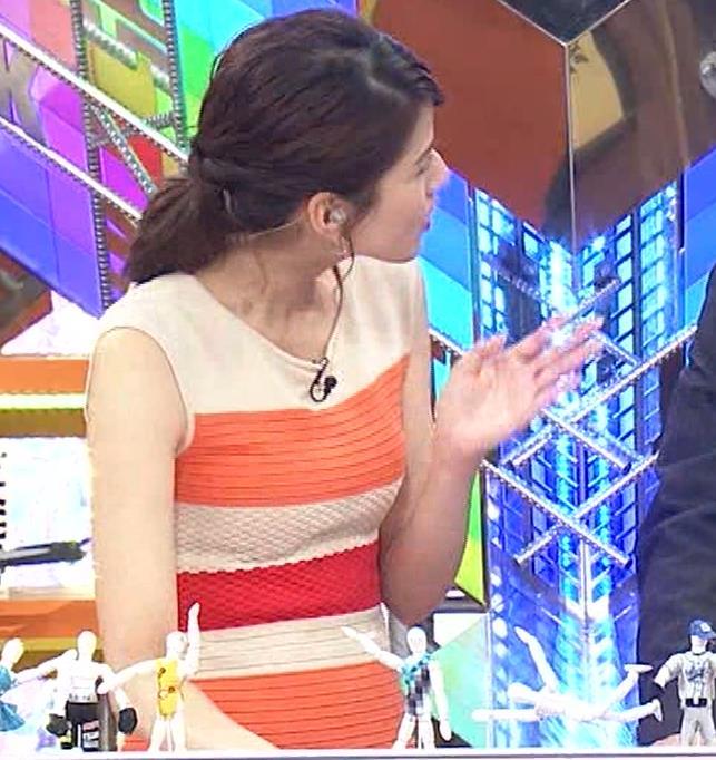永島優美アナ 夜の番組はさらにエロい衣装を着てるキャプ・エロ画像12