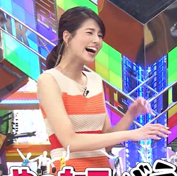 永島優美アナ 夜の番組はさらにエロい衣装を着てるキャプ・エロ画像5